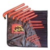 Salisbury S2610217 Insulated Hex Key Set, 1/16 - 5/8 In, Long