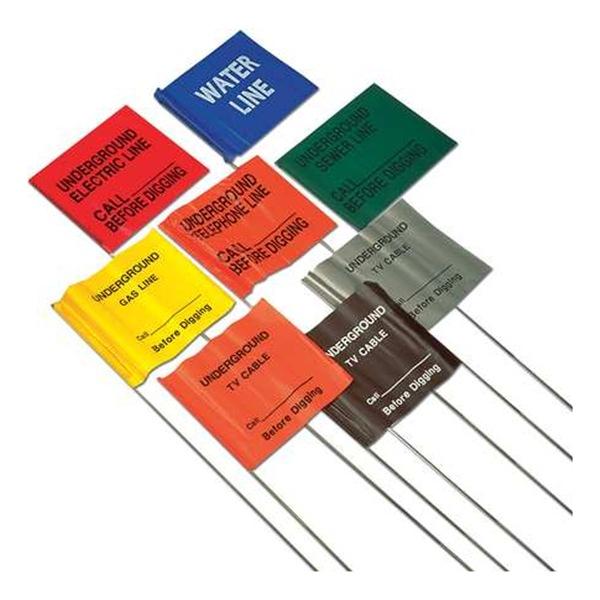 Pvc Marking Flags