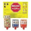 Moldex 0604 Ear Plugs, 33dB, W/o Cord, Univ