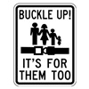 Lyle SB-011-18HA Traffic Sign, 24 x 18In, BK/WHT, B-2