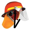 Bullard PX ORANGE Fire Helmet, Orange, Modern