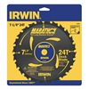 Irwin Marathon 14130 Crclr Saw Bld, Crbde, 7-1/4 In, 24 Teeth