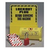 Prinzing LC228E Lockout Station, Unfilled, 8-1/2 In W