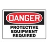 Accuform Signs MPPE114VP Danger Sign, 24 x 36In, R and BK/WHT, ENG