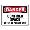 Electromark L271-H Danger Label, 3-1/2 In. H, 2 In. W, PK 8