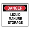 Accuform Signs XD222 Danger Sign, 10 x 14In, R and BK/WHT, PLSTC