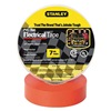 Stanley 3ZGK1 Electric Tape, 3/4 In, 66 Ft, 7 Mil, Red