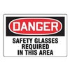 Accuform Signs MPPE110VP Danger Sign, 24 x 36In, R and BK/WHT, ENG