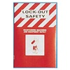 Brady 2112 Lockout Safety Training Handbook, PK25