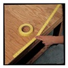 Approved Vendor 3KHL1 Tape Ruler, 1 In W x 500 In L, Yellow