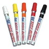 Approved Vendor 3LJD3 Valve Actn Paint Markers, Whte, PK4