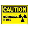 Brady 86183 Caution Label, 3-1/2 In. H, 5 In. W, PK 5