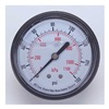 Pressure Gauge, Filled, 1 1/2 In, 160 Psi