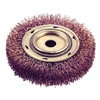 Ampco WB-44A Crimp Wire Wheel Brush, 6x1/2