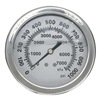 Approved Vendor 4CFV8 Pressure Gauge, Filled, 3 1/2In, 1000Psi, SS