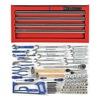Westward 4VCP5 Master Tool Set, SAE, 95 Pc