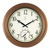 Approved Vendor 50314 18 IN COPPER CLOCK/THERMOMETER