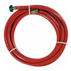 Swan SN58R015 Water Hose, Rnfrcd PVC, 5/8 In ID, 15 ft L