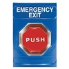 Safety Technology International SS-2405EX Emergency Exit Push Button, Blue, ADA