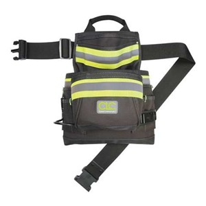 CLC Hi Vis Nail/Tool Bag, 10 Pocket at Sears.com