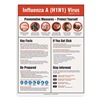 Accuform Signs PST421 Poster, 24 x 18In, Laminated POLYEST, Text