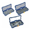Irwin Hanson 4935063 Tap and Die Set, M3-M12, 41 Pc