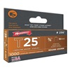 Arrow 256 Staples, T25, Round, 1/4x3/8, PK 1000