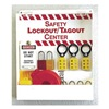 Prinzing LC234E Safety Lockout/Tagout Center, 6 Locks