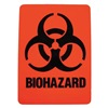 Brady 18765LS Hazardous Waste Label, 2-7/8 In. H, PK 25