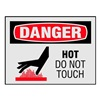Brady 27416LS Danger Label, Information, PK 8