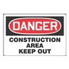 Accuform Signs MADM015VP Danger Sign, 24 x 36In, R and BK/WHT, ENG