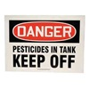 Accuform Signs SSAL932 Danger Sign, 10 x 14In, R and BK/WHT, ENG
