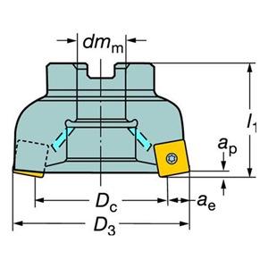 Sandvik Coromant RA210-102R38-14H