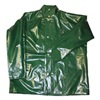 Tingley J22208.2X Rain Jacket with Hood Snaps, Green, 2XL