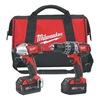 Milwaukee 2697-22 Cordless Combination Kit, 18.0V, 2.8A/hr.