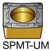 Sandvik Coromant SPMT 432-UM         1125 Carbide Turning Insert, SPMT 432-UM 1125, Pack of 10