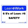 Zing 2179 Lean Processes Sign, 10 x 14In, ENG, Text