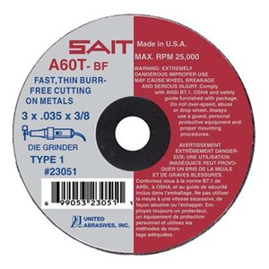 United Abrasives-Sait 23043