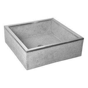 Fiat Floor Sink : Fiat Products TSB100501 Mop Sink, Terrazzo, SS Cap Shoulders Be the ...