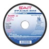 United Abrasives-Sait 24251 Abrsv Cut Whl, 4-1/2In D, 0.625In T