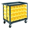Durham RSC-2436-BLP-64-210-95 Service Cart, 1200 Lbs, Holds 64 Opt. Bins