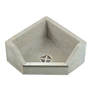 Fiat Floor Sink : Fiat Products TSBC1610501 Mop Sink, Terrazzo, 6 In Drop Front, Neo Be ...