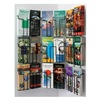 R.Wireworks, Inc ECPW18 Pamphlet Wall Display, 18 Compart, Blk
