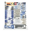 Westward 4VCN6 Master Tool Set, SAE, 280 Pc