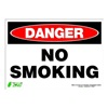 Zing 2109S Sign, Danger No Smoking, 10x14, Adhesive