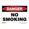 Zing 2109S Sign, Danger No Smoking, 10x14, Adhesive