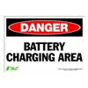 Zing 1113S Sign, Danger Battry Changing Area, 7x10