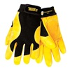 Tillman 1475XL Mechanics Gloves, Black/Gold, XL, PR