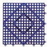 San Jamar VM5280GPGR Bar Mat, Purple, 12x12