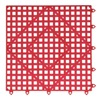 San Jamar VM5280RDGR Bar Mat, Red, 12x12